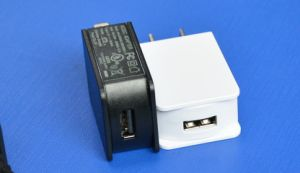 UL Listed Wall Charger Us Type Power Adapter 5V1a pictures & photos