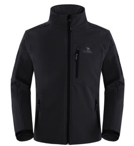 OEM Casual Men′s Outdoor Custom Softshell Jacket pictures & photos