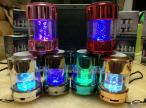 Colorful Lighting Bubble Style MP3 Speaker with USB/TF Card Port