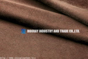 Flocking Garment Leather (HK-NQY-12-02)