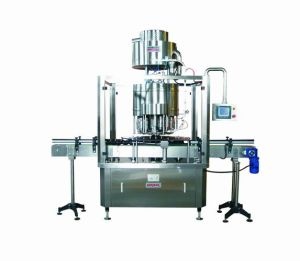 Automatic Rotary Plastic Cover Capping Machine