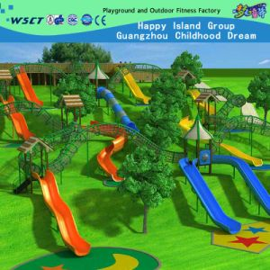 2015 New Outdoor Playground Equipment, Outdoor Slides for Kids pictures & photos