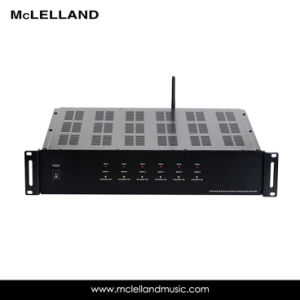 6source/6zone Mutil-Room Amplifier with Stream Audio (MAP-1200WS) pictures & photos