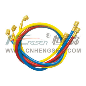 """CT-372 P Charging Hose 72"""" Charging Hose for R12/R22/R502 Refrigeration Parts Air Conditioner Parts Refrigeration Tool pictures & photos"""