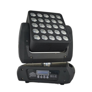 25*12W RGBW 4in1 LED Matrix Moving Head Lights for Disco DJ Event Stage pictures & photos