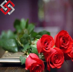 PE Rose Artificial Flower for Wedding and Home Decor