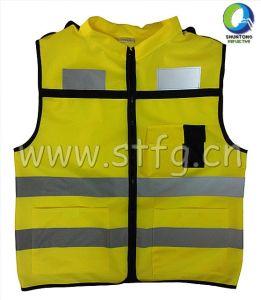 Children Reflective Vest with Zipper (ST-C05)