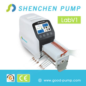 Labv1 LCD Display Intelligent Flow Peristaltic Dosing Pump pictures & photos