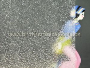 Clear Patterned Glass-Diamond (BRG001)