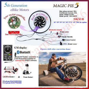 Bluet Programmable! 48V 1000W Magicpie 5 Electric Bike Motor with LiFePO4 Battery pictures & photos