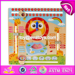 New Products Children Educational Wooden Advent Calendar Toys W09f002 pictures & photos