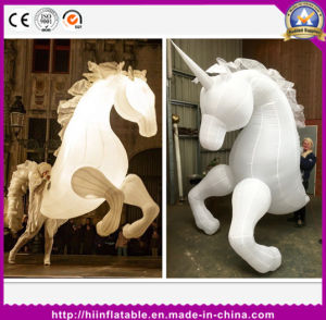 Customized New Design Mobilizable Funny Inflatable Horse Costume pictures & photos