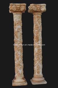Stone Roman Column Grape Design (CLN002) pictures & photos