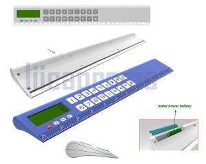 Water Power Calculator Ruler (LP6007)