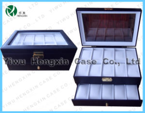 PU Leather Watch Display Lether Watch Box Case (HX-C-1107) pictures & photos
