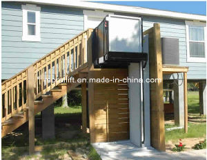 Safe and Reliable Home Vertical Wheelchair Lift for Old Man pictures & photos