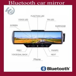 Bluetooth Car Kit Mirror With MP3, FM, USB, SD, Display Call ID (WD0602)