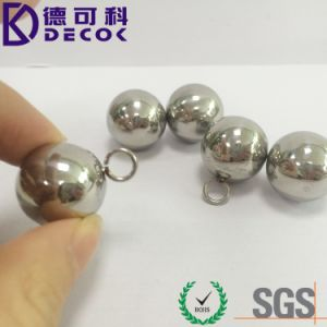 AISI304 316 Sphere Stainless Steel Ball for Chain with Loop pictures & photos
