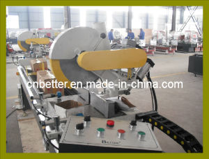 PVC Window Machine--Double Mitre Saw Double Head Cutting Saw / PVC Window Mitre Cutting Saw / UPVC Profile Cutting Saw (SJ02-3500)