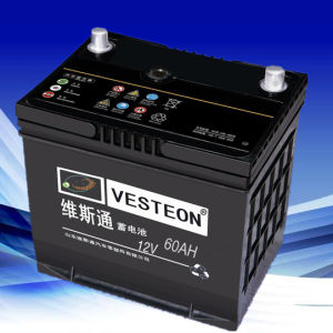 DIN Car Battery 12V60ah 238X175X190 pictures & photos