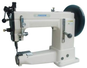 Single Needle Unison Feed Cylinder Bed Sewing Machine pictures & photos
