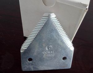 Galvanized Comebine 3mm Good Quality Pressing Teeth Harvester Knife Blade