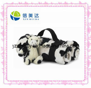 Travell Blanket with Cow Toy pictures & photos