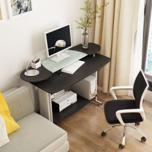 Home Office Furniture Computer Table with Double Mobile Table for Study pictures & photos