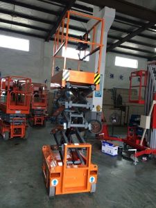 Full Electric Scissor Lift (Max Height 3m) pictures & photos