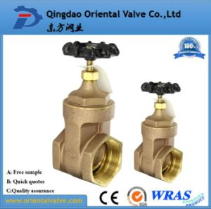 Hot Sell ISO228 Double Union Brass Gate Valve Full Brass, Pn16 pictures & photos
