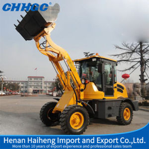 1t Mini Front End Loader/ Mini Skid Steer Loader with CE Certificate for Sale pictures & photos