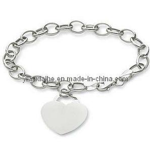 Fashion Heart Charm Bracelet (ALBA-1099)