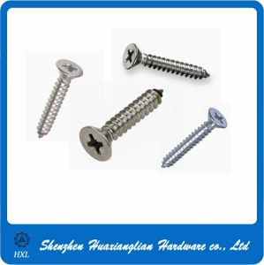 DIN 7505 Cross Recessed Countersunk Self Tapping Screw pictures & photos