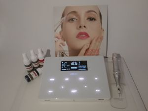 Goochie New Design M-4 Digital Permanent Makeup Eyebrow Tattoo Machine pictures & photos
