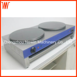 Double Pan Mini Electric Crepe Maker pictures & photos