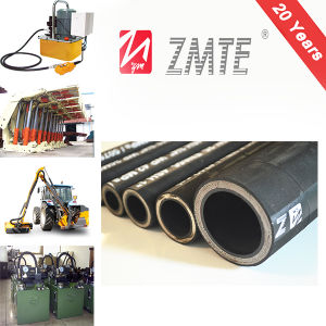 4 Steel Wire Spiral Reinforced Hydraulic Rubber Hose 4sp pictures & photos