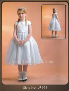 Girl Dress New Flowergirl Princess Dress (UF494)