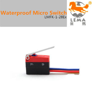 5A 250V IP65 Waterproof Micro Switch Lmfk-1-28ex pictures & photos