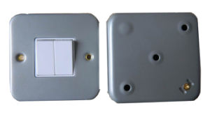 Electric Wall Switch (UK8335DR 2G2W) - 1