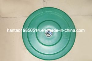 Rubber Barbell Plate Green Color (GREEN)