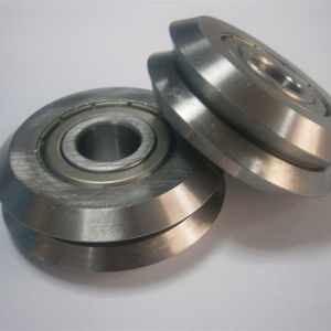 Dual V-Wheel W Groove Guide Wheel Bearing pictures & photos