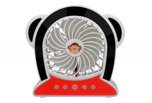 2000mAh Fashion Cartoon Monkey Shape Rechargeable Portable USB Mini Fan Sports Fan pictures & photos