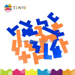 Math Manipulatives Jigsaw Puzzle Toys Plastic Pentominoes pictures & photos
