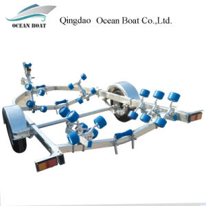 Dyz580qr High Quality Low Price Boat Trailer for 5.3m Boat pictures & photos