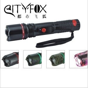 Strong Flashlight Stun Gun for Self-Defense pictures & photos