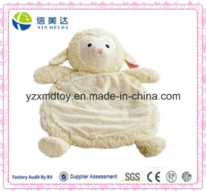 Safe and Soft Plush White Lamb Baby Play Mat pictures & photos