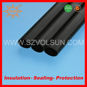 Semi-Rigid Medium Wall Heat Shrink Tubing with Glue pictures & photos