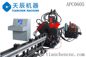 CNC Punching, Marking & Shearing Line Model APC1010 pictures & photos