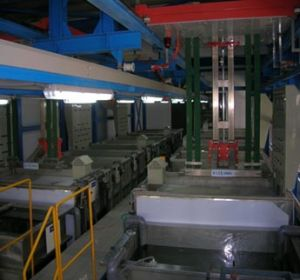 Good Quality High Rail Type Electroplating Machine