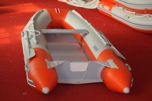 Water Boat /Fishing Boat with Aluminum Floor
